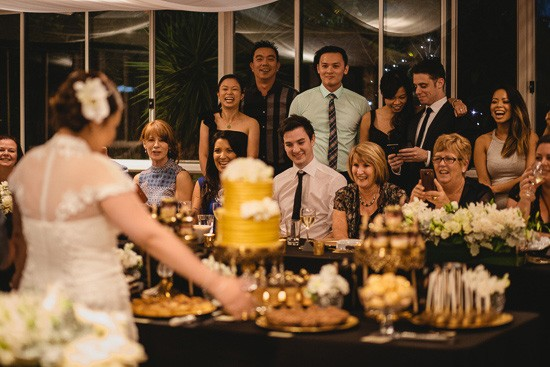 Cake table at The Willows