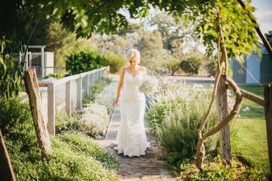 Country Australian bride