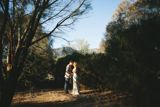 Country Victoria wedding photo
