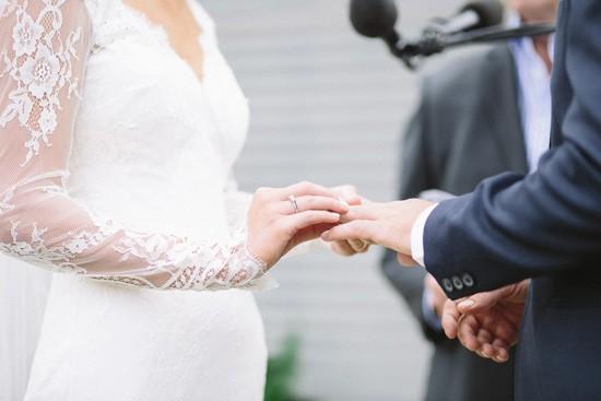 Exchnaging wedding rings