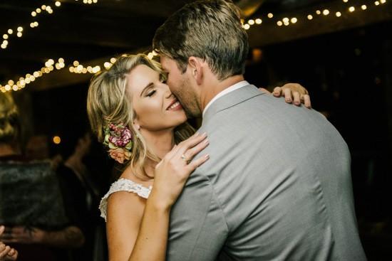 First dance at Australian wedding
