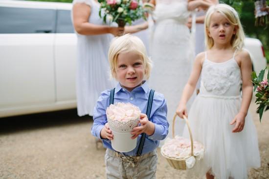 Flower boy and flower girl