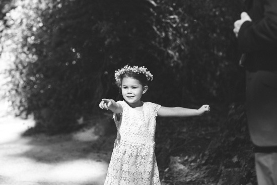 Flowergirl with crown