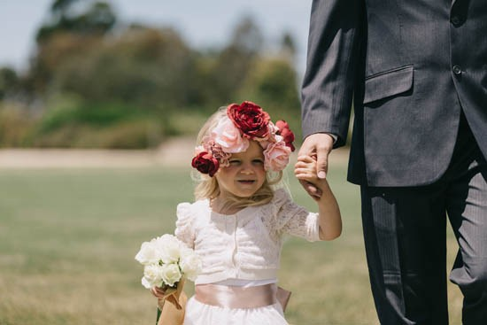 Flowergirl with flower crown