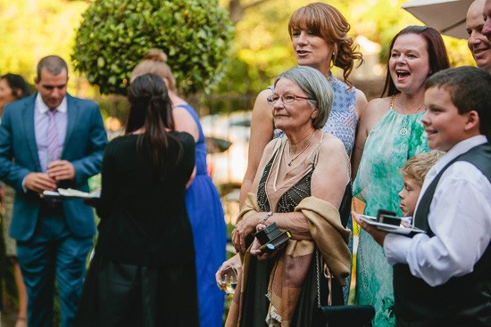 Guests at Melbourne Wedding