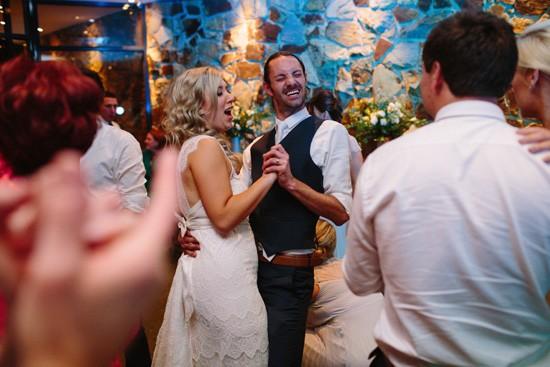 Happy wedding dance floor