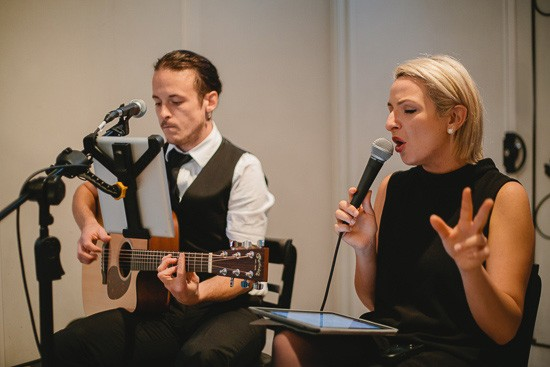 Melbourne acoustic wedding duo