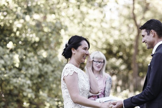 Melbourne city garden wedding
