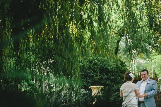 Melbourne garden ceremony venue