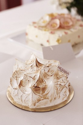 Messina Gelati Wedding Cake