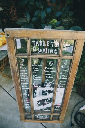 Mirror seating chart