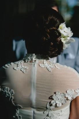 Neomi Allen Couture lace drewss