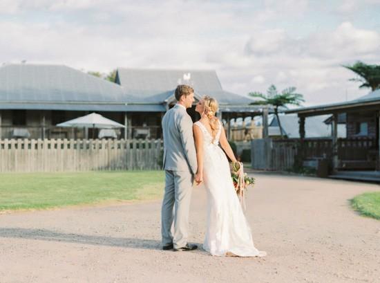 Newlyweds at Yandina Station
