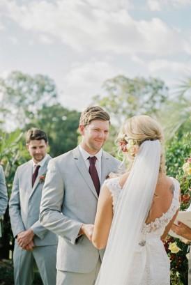 Queensland country wedding ceremony