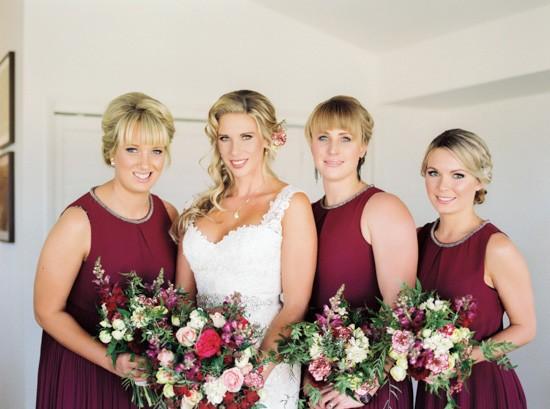 Raisin bridesmaid dresses