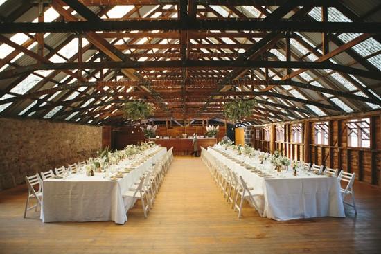 Royal mail Hotel barn wedding