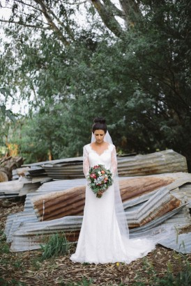 Sarina Crowcher Wedding Dress