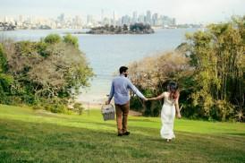 Sydney Harbour Engagememt Photos016