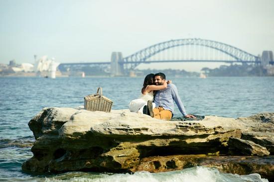 Sydney Harbour Engagememt Photos021