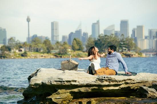 Sydney Harbour Engagememt Photos023