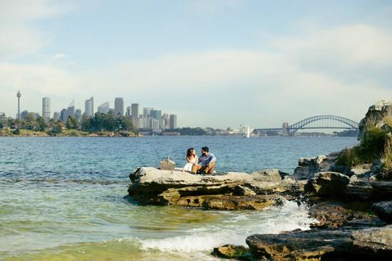 Sydney Harbour Engagememt Photos025