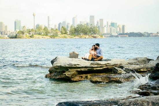 Sydney Harbour Engagememt Photos029