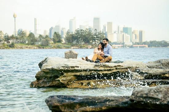 Sydney Harbour Engagememt Photos030