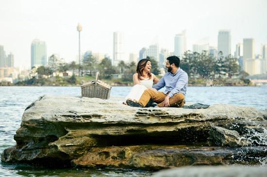 Sydney Harbour Engagememt Photos032