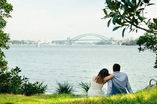 Sydney Harbour Engagememt Photos044