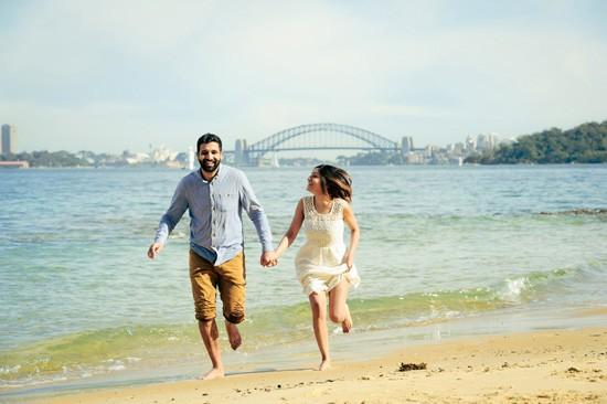 Sydney Harbour Engagememt Photos049