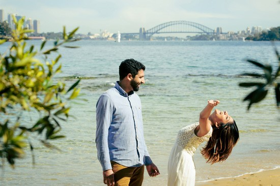 Sydney Harbour Engagememt Photos056