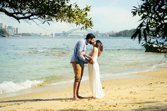 Sydney Harbour Engagememt Photos057