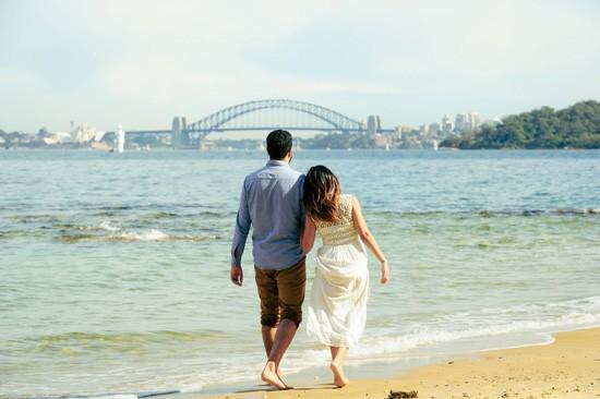 Sydney Harbour Engagememt Photos059