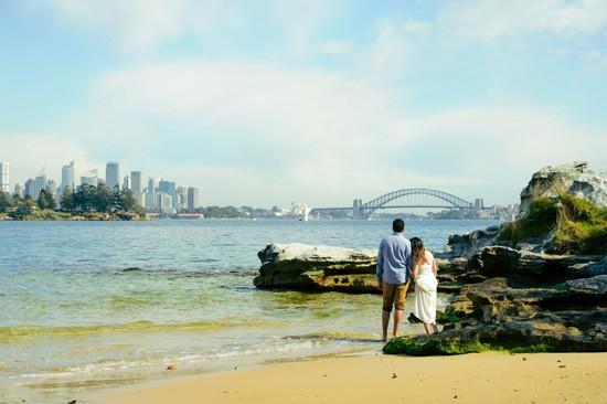 Sydney Harbour Engagememt Photos062