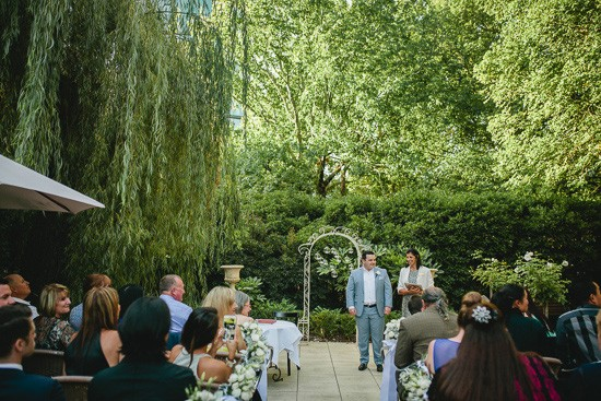 Wedding Ceremony at The Willows