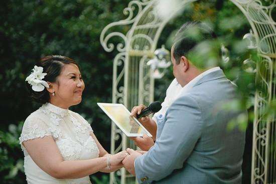 Wedding ceremony Margaret Collier