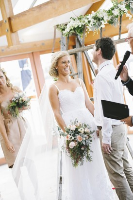 Wedding ceremony at Barwon heads