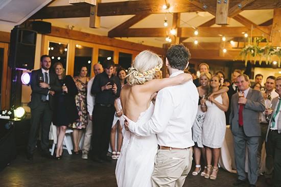 Wedding dance floor At The Heads