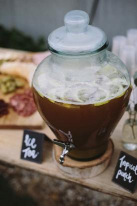 Wedding ice tea