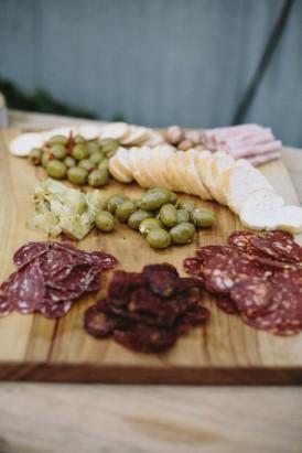 Wedding olive platter