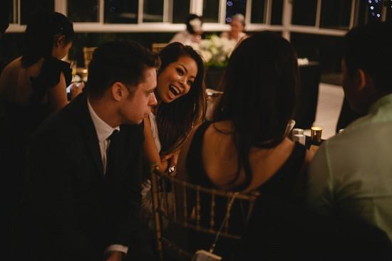 Wedding reception moments