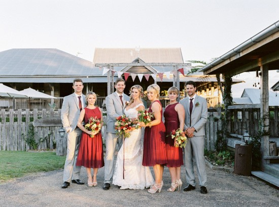 Yandina Station Wedding photo