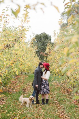 Adelaide Hills Orchard Engagement001
