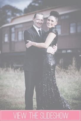 Black Wedding Dress Photos