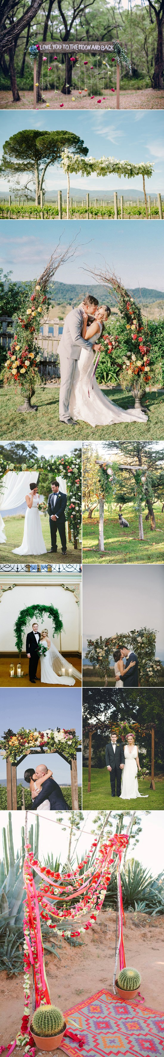 Floral Ceremony Arches