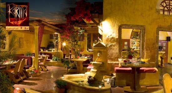 Karma restaurant Oia Santorini