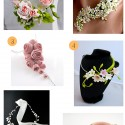 Porcelain Flower Necklaces