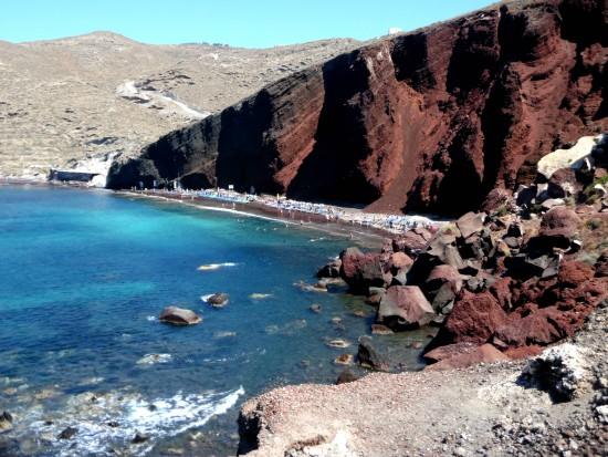 Red Beach Santorini 4