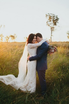 Romantic Queensland Winery Wedding108