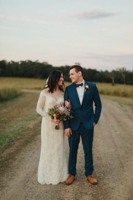 Romantic Queensland Winery Wedding125